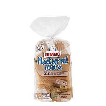 Bimbo Pan de molde 100% natural Paquete 460 g