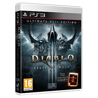 PS3 Videojuego Diablo iii: Ultimate Evil Edition  1 unidad