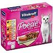 Alimento con pollo-ternera-pavo para gato Pack 6 x 85 g Poésie Vitakraft