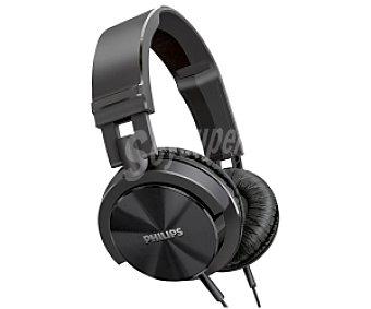 PHILIPS SHL3000BK/00 Auriculares tipo Casco Negro, con cable