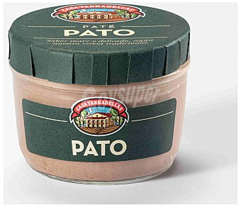 Casa Tarradellas Paté de hígado de pato sin gluten 125 gramos