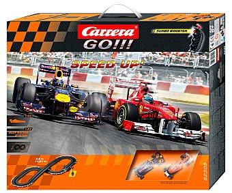 CARRERA Pista de Fórmula 1 Ferrari, duelo Redbull 1 Unidad
