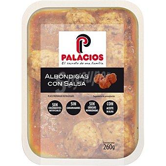 Palacios Albóndigas con salsa envase 260 g