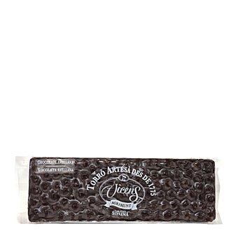 Vicens Turrón de chocolate y avellanas bitter 500 g