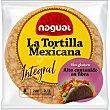 La tortilla mexicana 100% maíz integral sin gluten ni lactosa Envase 200 g Nagual