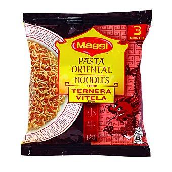 Maggi Pasta Oriental sabor ternera 71 Gramos