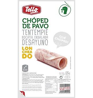 Tello Chopped pavo lonchas 125g 1 unidad