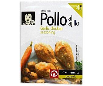 Carmencita Sazonador pollo al ajillo 7 grs