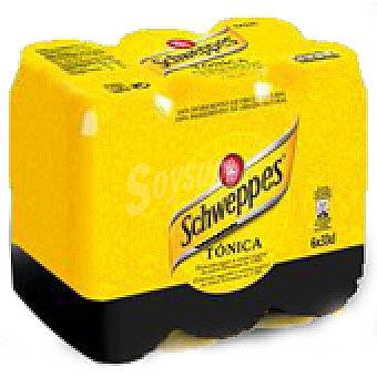 Schweppes Tonica uni Lata pack 6
