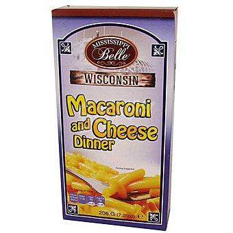 Mississippi Belle Preparado macarrón con queso Mississippi Belle 206 g