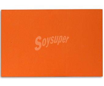 APLI Plancha de foam, goma eva de color naranja y dimensiones 400x600x 2 milímetros 1 unidad