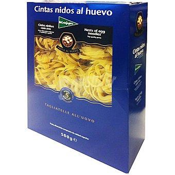 El Corte Inglés Pasta cintas nidos al huevo Envase 500 g