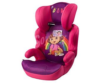 Dora la Elevador bebé para grupo 2-3, color rosa y morado, exploradora