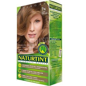 Naturtint Tinte rubio avellana 7n color permanente sin amoniaco caja 1 unidad Caja 1 unidad