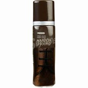 Eroski Líquido limpi. marrón osc. para calzado 50 ml