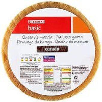 Eroski Basic Queso mezcla curado 250 g