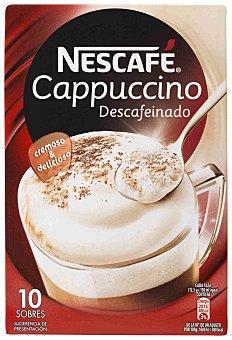 Nescafé Nescafé Cappuccino Café Soluble Descafeinado 10 Sob x 12,5g 125 g
