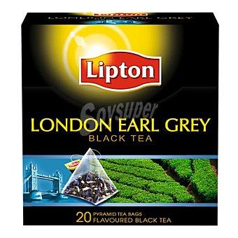 Lipton Lipton london earl grey 20 piramides 59 peso bruto 20 ud