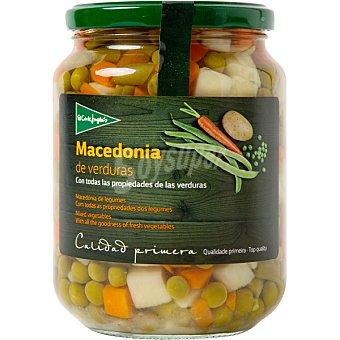 El Corte Inglés macedonia de verduras frasco 450 g neto escurrido