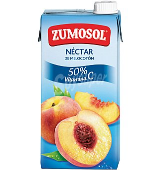 Zumosol Nectar melocoton Brick 1 l