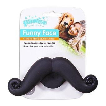 Pawise Juguete para perros cachorros con forma de bigote 1 unidad