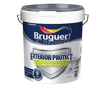 Bruguer Exterior protect revistimiento liso fachadas color blanco 4 litros