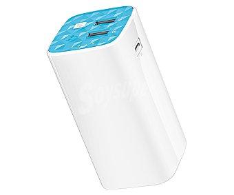 TP Batería externa TP link TL-PB10400 Powerbank, 10400mAh, 2 Usb, salida: 5V, 2.1A/1A. linterna.