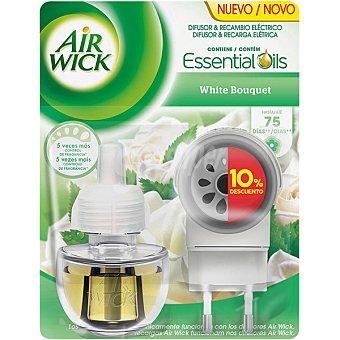Air Wick Ambientador eléctrico White Bouquet aparato + recambio