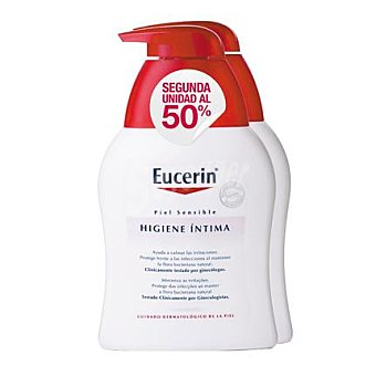Eucerin Higiene íntima calmante 2 envases de 250 ml