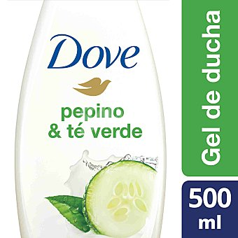 Dove Gel fresh touch con extracto de pepino y té verde 500 ml