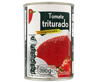 Auchan Tomate Triturado 390 Gramos Peso Neto