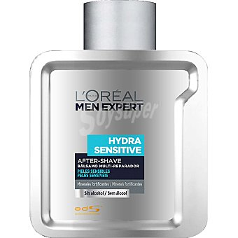L'OREAL MEN EXPERT Hydra Sensitive After shave bálsamo piel sensible Frasco 100 ml