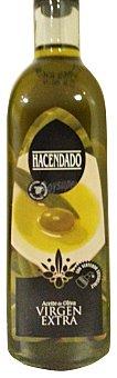 Hacendado Aceite oliva virgen extra tapon negro Botella cristal 750 cc