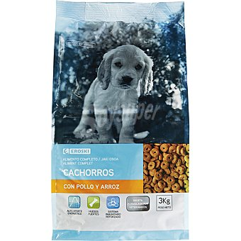 EROSKI Alimento para cachorros 3Kg