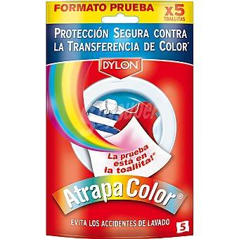 Atrapa Color toallitas anti-transferencia de color caja 5 unidades