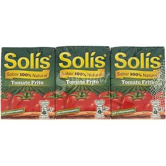 Solís Tomate frito neto escurrido Pack 6 envase 350 g