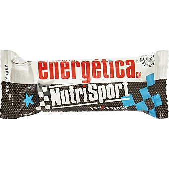 NUTRISPORT Barrita energética sabor yogur envase 44 g Envase 44 g