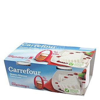 Carrefour Queso de Burgos 0% Pack de 2x250 g