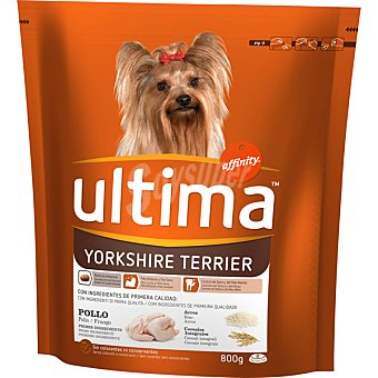AFFINITY ULTIMA Yorkshire Terrier Alimento especial envase 800 g g