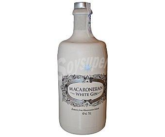MACARONESIAN White Gin ginebra con regalo de dos copas botella 70 cl