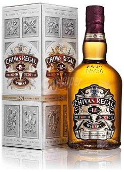 Chivas Regal Whisky 12 años 40% Botella 700 ml