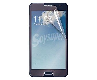 MUVIT Set de 2 protectores de pantalla, para Samsung Galaxy A3, 1 mate y 1 brillo 3 protect.panta