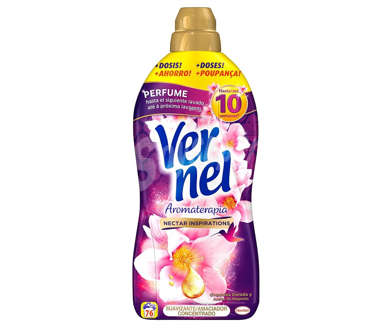 Vernel Suavizante Concentrado Aromaterapia Botella 76 Dosis ~ Como Hacer Ambientador Con Suavizante