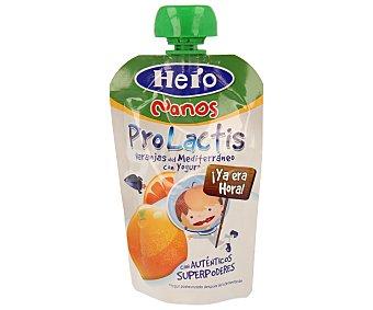 Hero Bolsita de yogur con naranjas del Mediterráneo 100 gramos