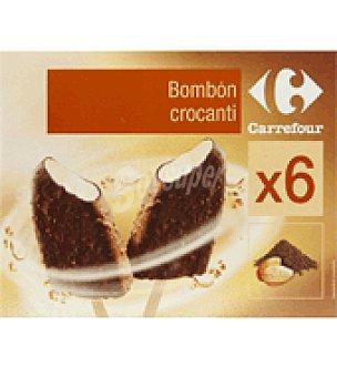 Carrefour Bombones crocanti Caja de 6 ud