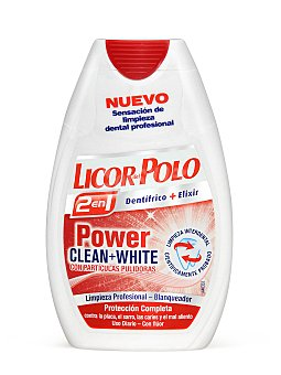LICOR DEL POLO LICOR DEL POLO 2EN1 POWER CLEAN+WHITE75ML frasco 75 ml