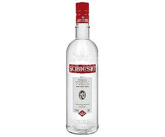 Sobieski Vodka premium de importación Botella de 1litro