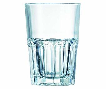 AUCHAN Vaso alto para agua modelo New America, con capacidad de 40 centilitros y fabricado en vidrio 1 Unidad