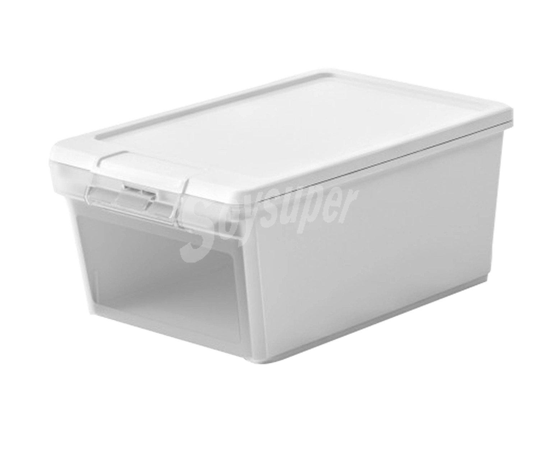 Jobgar caja de ordenaci n twin box xs con 8 5 litros de capacidad color blanco 37x22x15 5 - Cajas de ordenacion ...