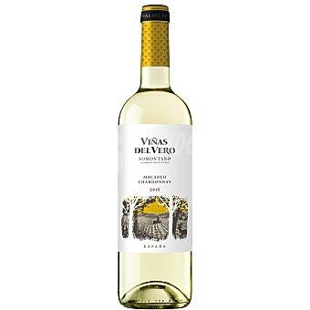 Viñas del Vero Vino D.O Somontano blanco macabeo-chardonnay  Botella 75 cl